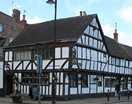 Period public house in Tewkesbury
